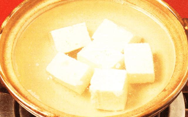 湯豆腐の作り方の基本!シンプルに美味しい豆腐を味わう方法
