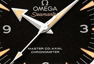 オメガ シーマスター300 文字盤